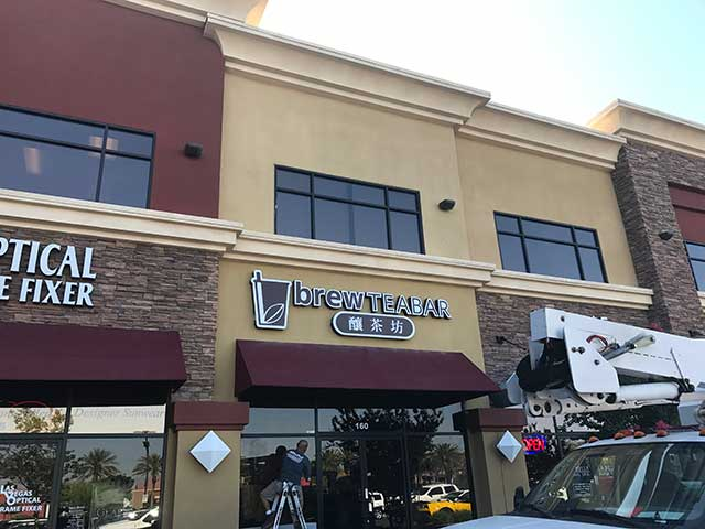 restaurant business signs in Henderson, NV