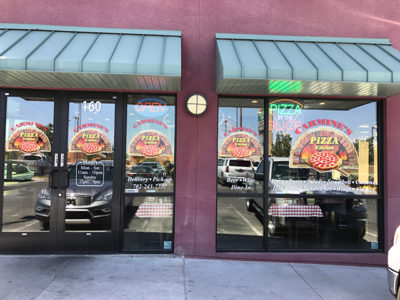 Vinyl window signs in Henderson, NV